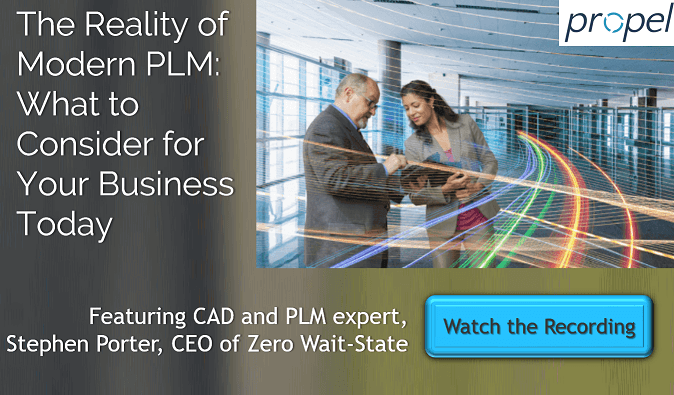 ZWS Propel PLM Webinar On-Demand 04262018