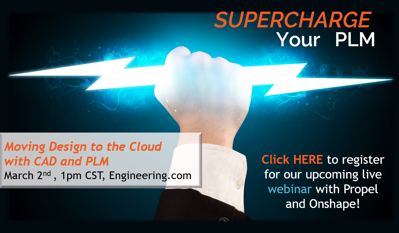 CAD to PLM in the cloud webinar